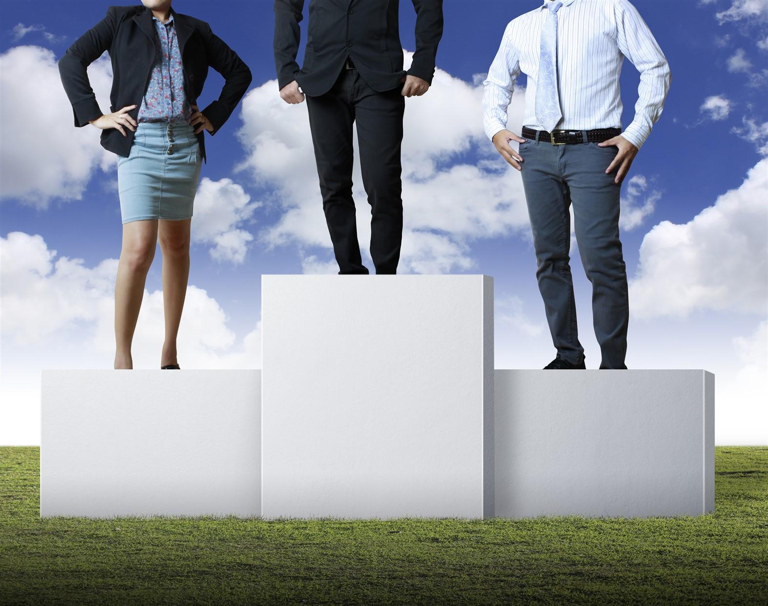 bigstock-Business-people-on-the-podium-27028529